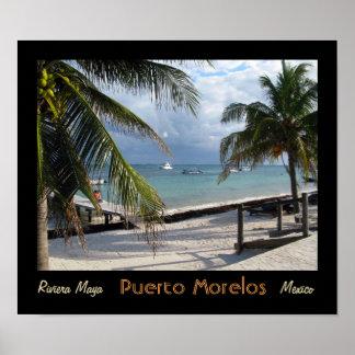Puerto Morelos Poster