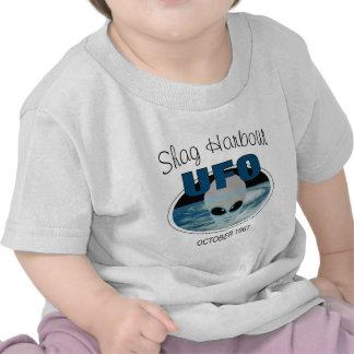 Puerto Nueva Escocia de la pelusa Camisetas
