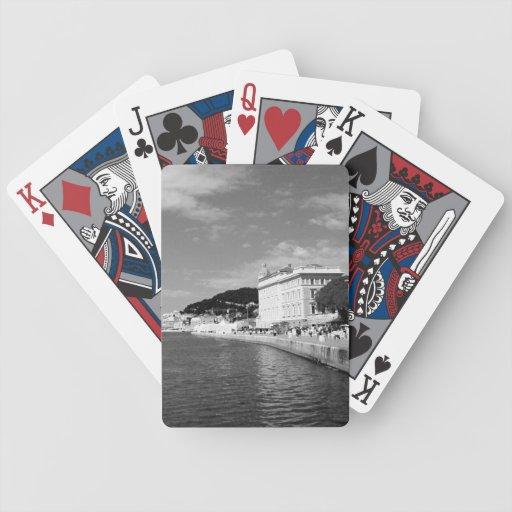 Puerto partido baraja cartas de poker