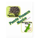 Puerto Penasco: Punto rocoso México 2 Postal