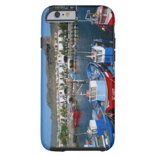Puerto pesquero, Puerto de Mogan, Gran Canaria, Funda Para iPhone 6 Tough