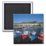 Puerto pesquero, Puerto de Mogan, Gran Canaria, Iman