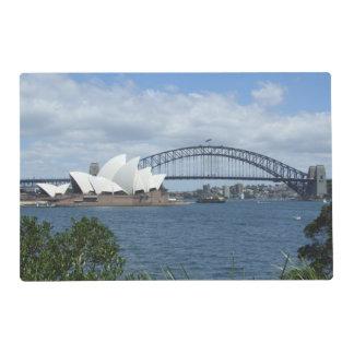 Puerto Placemat de Sydney Tapete Individual