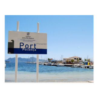 Puerto Pollensa (Port de Pollenca) Tarjeta Postal
