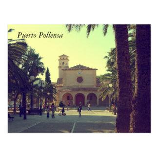 Puerto Pollensa Tarjeta Postal