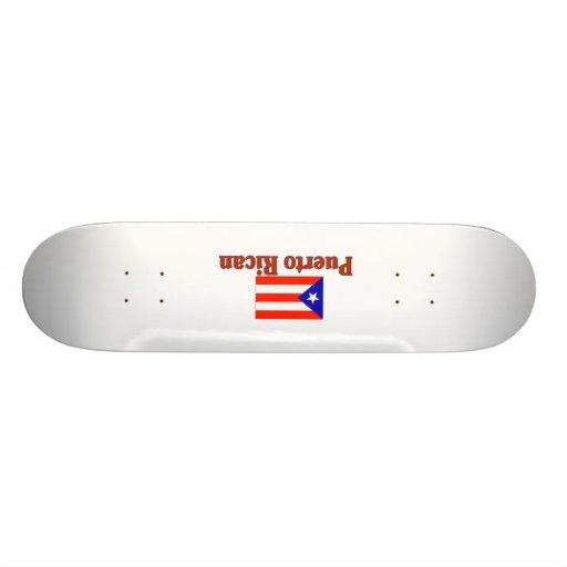 Puerto Rican 2 Skateboard Decks