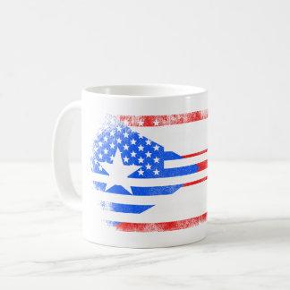 Puerto Rican American Flag   Puerto Rico and USA Coffee Mug