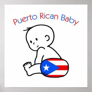 Puerto Rican Baby Poster