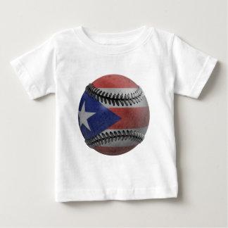 Puerto Rican Baseball Baby T-Shirt