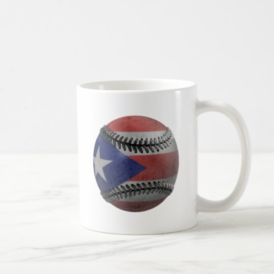 Puerto Rican Baseball Coffee Mug