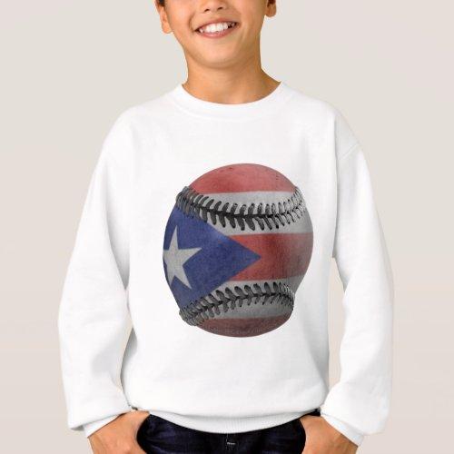 Puerto Rican Baseball Sweatshirt