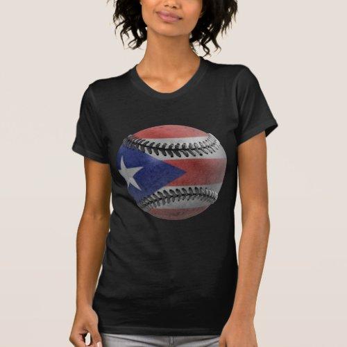 Puerto Rican Baseball T_Shirt