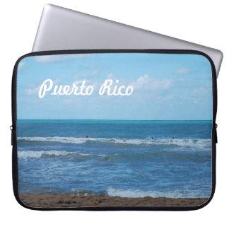 Puerto Rican Beach Laptop Sleeve