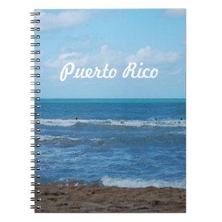 Puerto Rican Beach Note Books