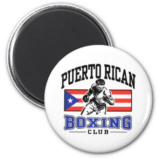 Puerto Rican Boxing Magnet