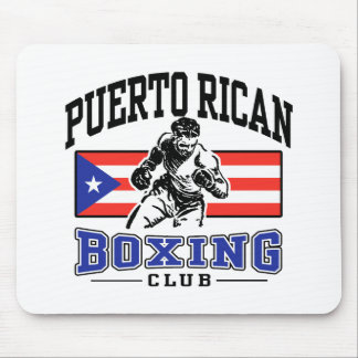 Puerto Rican Boxing Mouse Pad