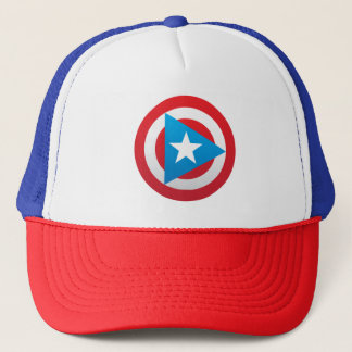 Puerto Rican Captain Trucker Hat