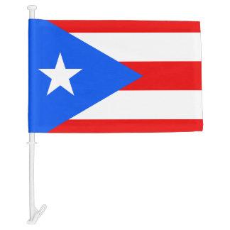 Puerto Rican car window flag   Puerto Rico pride