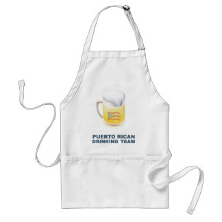 Puerto Rican Drinking Team Adult Apron