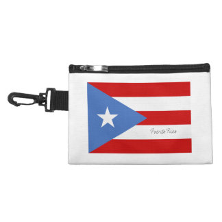 Puerto Rican Flag Accessory Bag