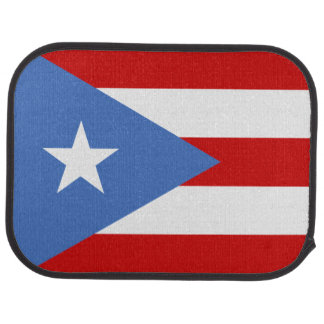 Puerto Rican Flag: Bandera de Puerto Rico Car Floor Mat