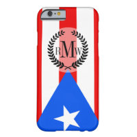 Puerto Rican Flag Barely There iPhone 6 Case