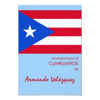 Puerto Rican Flag Card