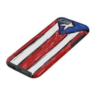 Puerto Rican Flag Tough iPhone 6 Case