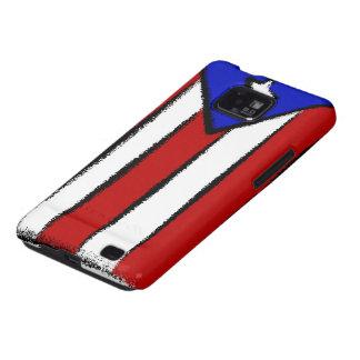 Puerto Rican Flag Samsung Galaxy S2 Case
