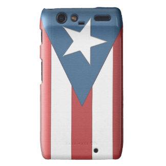 Puerto Rican Flag Case for the Droid RAZR Motorola Droid RAZR Cover