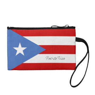 Puerto Rican Flag Change Purse