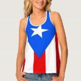 Puerto Rican Tank Tops for Women