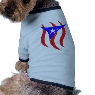Puerto Rican Flag Doggie Tshirt