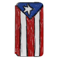 Puerto Rican Flag iPhone 6/6s Wallet Case