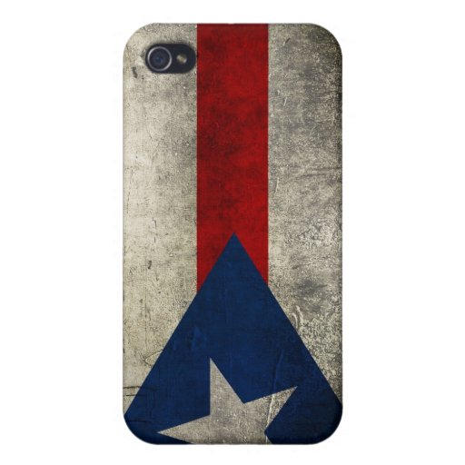 Puerto Rican Flag Iphone Case Covers For iPhone 4