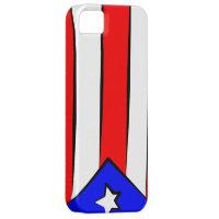 Puerto Rican Flag iPhone SE/5/5s Case
