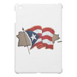 Puerto Rican Flag & Island Case For The iPad Mini
