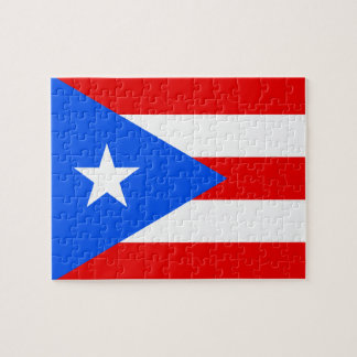 Puerto Rican Flag Jigsaw Puzzle