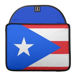 Puerto Rican Flag MacBook Pro Sleeves