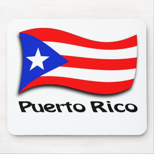 Puerto Rican Flag Mouse Pad