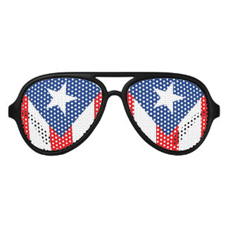 Puerto Rican Flag Party Shades