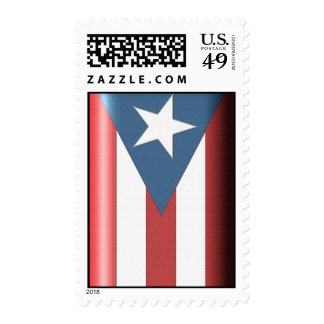 Puerto Rican Flag Postage Stamp