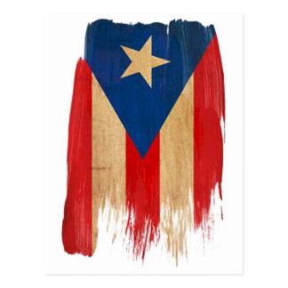 Puerto Rican Flag Postcard