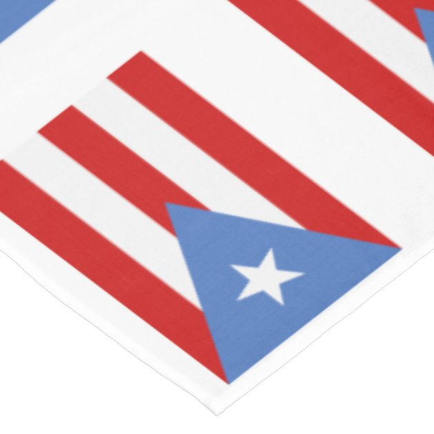 It is a graphic of Printable Puerto Rican Flag intended for beach