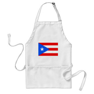 Puerto Rican Flag Products Adult Apron