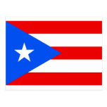 Puerto Rican Flag Products Postcards