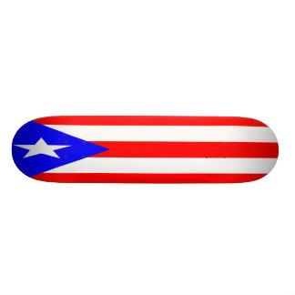 Puerto Rican Flag Skateboard