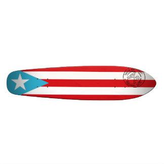 Puerto Rican flag Skateboard Deck