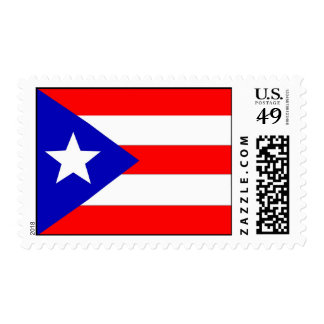 Puerto Rican Flag Stamp