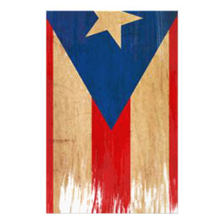 Puerto Rican Flag Stationery